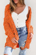 Puradress Colorful Points Pockets sweater Knitted Sweater Cardigan