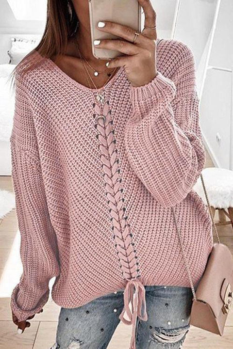 Puradress Kara Weave Plait Sweater