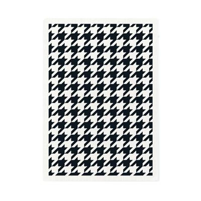 Black Houndstooth Playing Cards - Markt 52