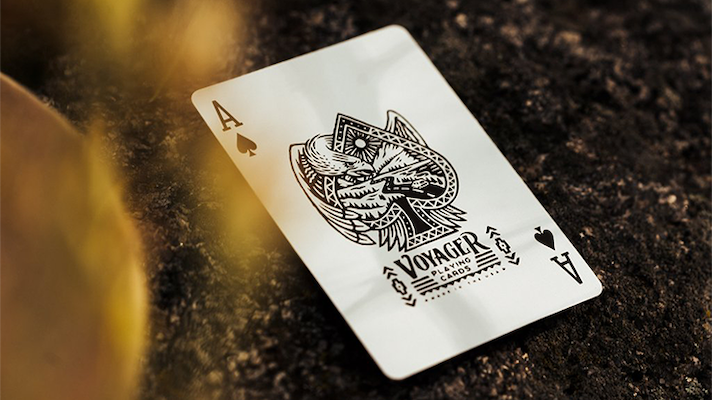 Voyager Luxury Playing Cards - Markt 52