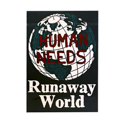 Runaway World Playing Cards - Markt 52