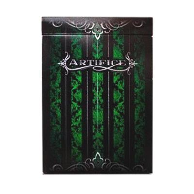 Artifice Playing Cards - Green - Markt 52