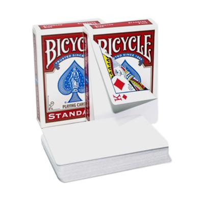 Bicycle Blank Back Playing Cards - Markt 52