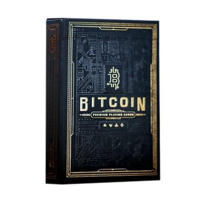 Bitcoin Playing Cards - Black - Markt 52