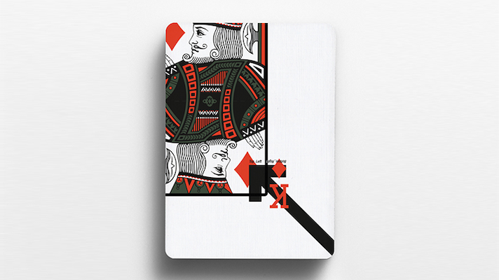 Cardistry Touch Playing Cards - Offset Orange - Markt 52