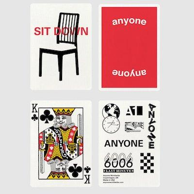 Red Logo Playing Cards - Markt 52