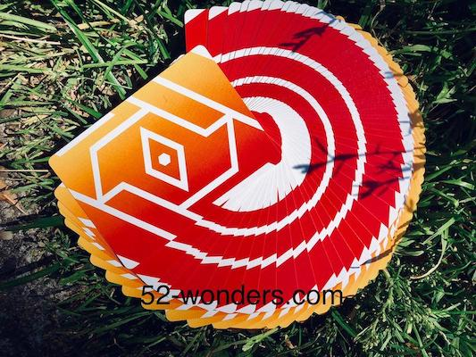 Copag 310 Playing Cards - Alpha Orange - ♦️ Markt 52 Online Shop Marketplace Playing Cards, Table Games, Stickers