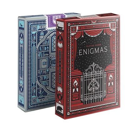 Enigmas Puzzle Hunt Playing Cards - Markt 52
