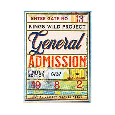 General Admission Playing Cards - Markt 52