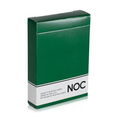 NOC Playing Cards Original Series - Green - Markt 52