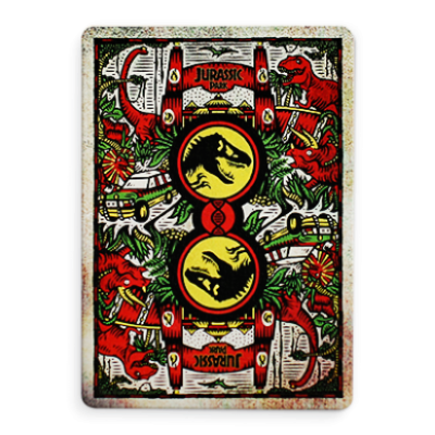 Jurassic Park Playing Cards - Markt 52