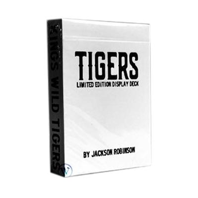 Tiger Playing Cards - Limited Edition - Markt 52