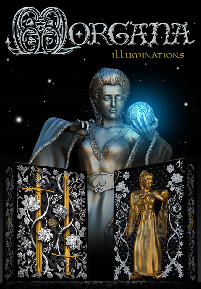 Morgana Illuminations Playing Cards - Markt 52