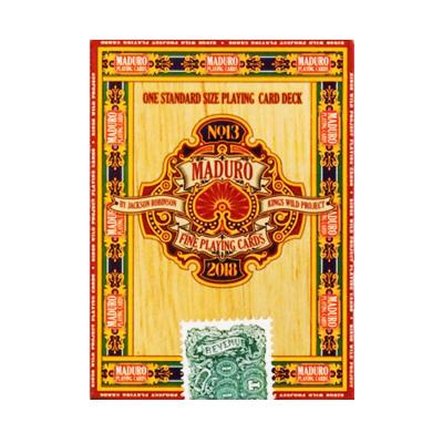 Gold Maduro Playing Cards - Markt 52