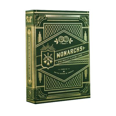 Green Monarch Playing Cards - Markt 52