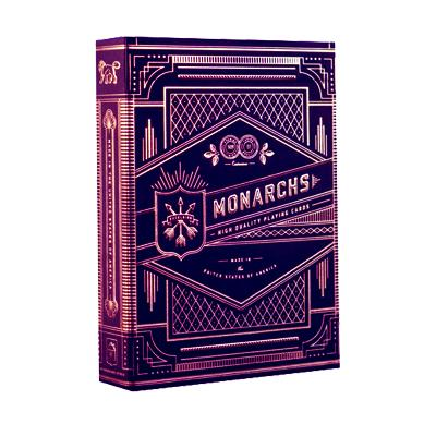 Purple Monarch Playing Cards - Markt 52