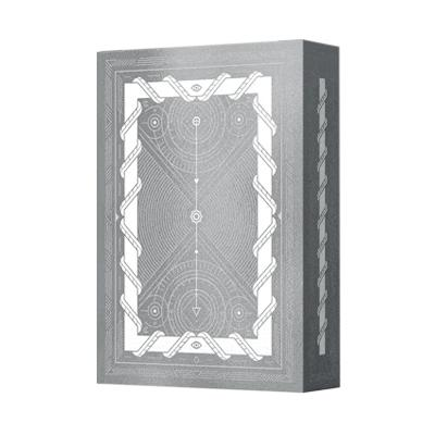 Limited White Monolith Playing Cards - Markt 52