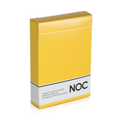 NOC Playing Cards Original Series - Yellow - Markt 52