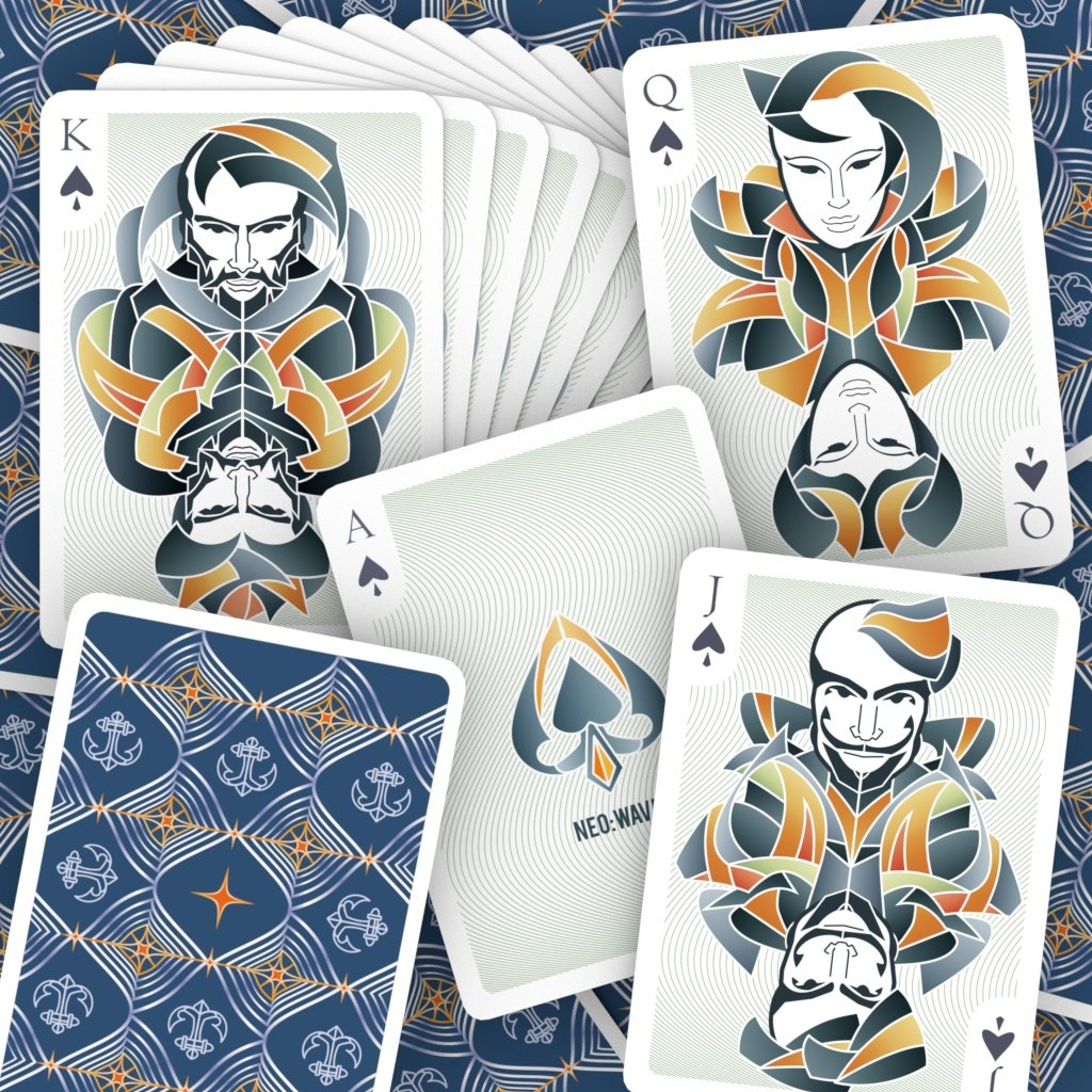 Neo Wave Playing Cards - Markt 52