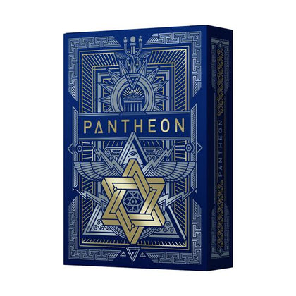 Pantheon Azure Playing Cards - 52 Wonders Playing Cards Spielkarten Bicycle Fontaine Anyone Orbit Butterfly