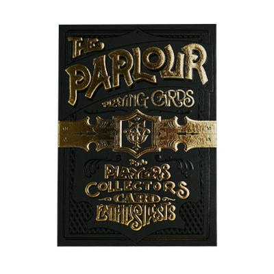 Black Parlour Playing Cards - Markt 52