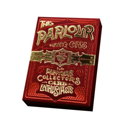 Red Parlour Playing Cards - Markt 52