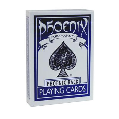 Blue Phoenix Back Playing Cards - Markt 52