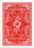 Red Phoenix Back Playing Cards - Markt 52