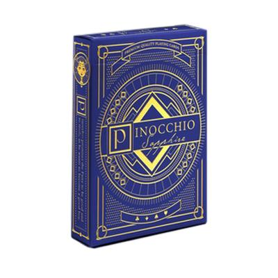 Pinocchio Playing Cards - Sapphire - Markt 52