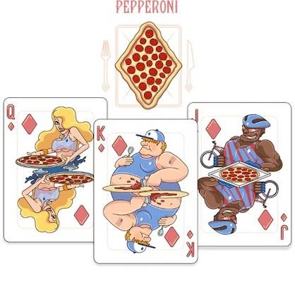 Pizza Playing Cards - Markt 52