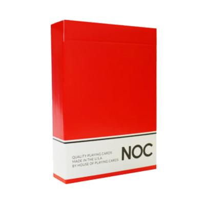 NOC Playing Cards Original Series - Red - ♦️ Markt 52 Online Shop Marketplace Playing Cards, Table Games, Stickers