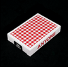 Red Houndstooth Playing Cards - Markt 52