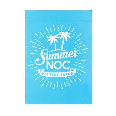 Summer NOC Playing Cards - Blue - Markt 52