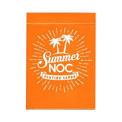 Summer NOC Playing Cards - Orange - Markt 52