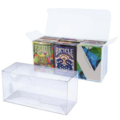 Transparent Playing Card Box - Markt 52