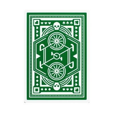 Wheels Playing Cards - Green - Markt 52