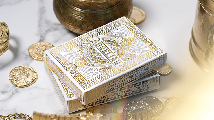 White Aurelians Playing Cards - Markt 52