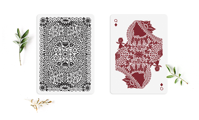 Papercuts Playing Cards - Markt 52