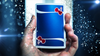 Cherry Casino Playing Cards - Tahoe Blue - Markt 52