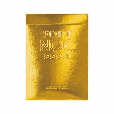 Gold NOC Playing Cards - Markt 52