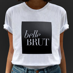 belle BRUT LOGO BOX T-SHIRT