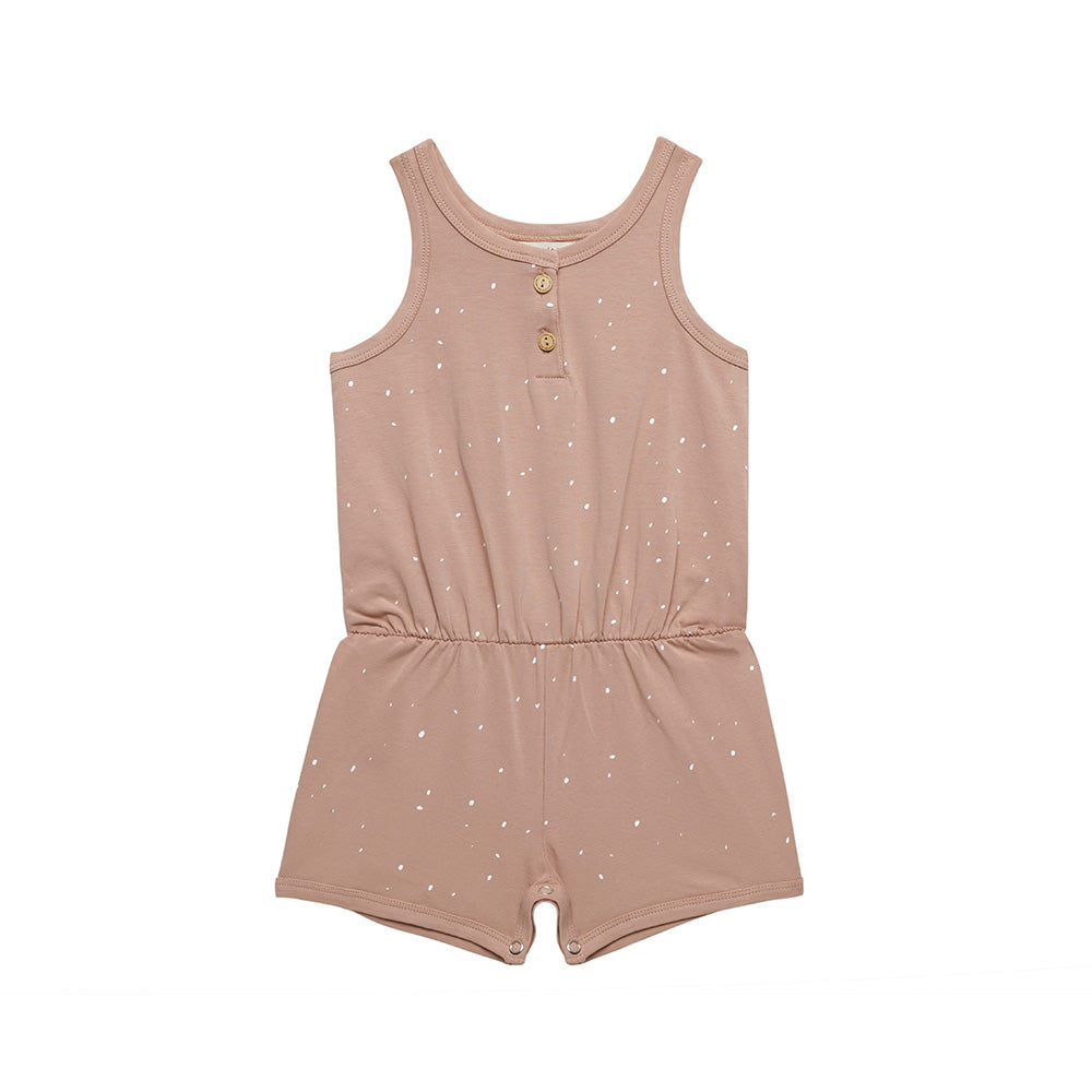 Jumpsuit Short Dots - Tuscany