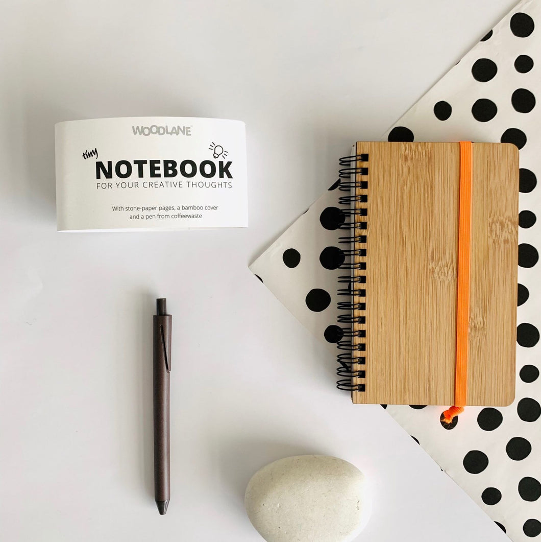 Woodlane notebook van bamboe