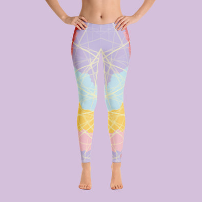 Leggings confianza lila