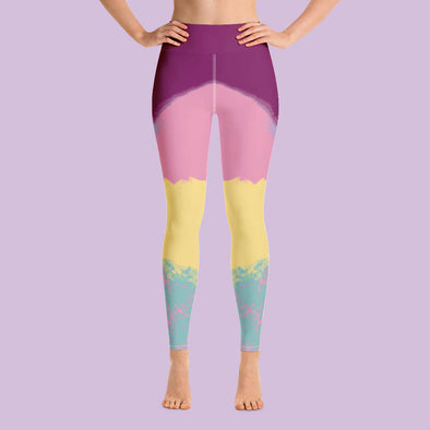 Leggings tiro alto confianza bordo