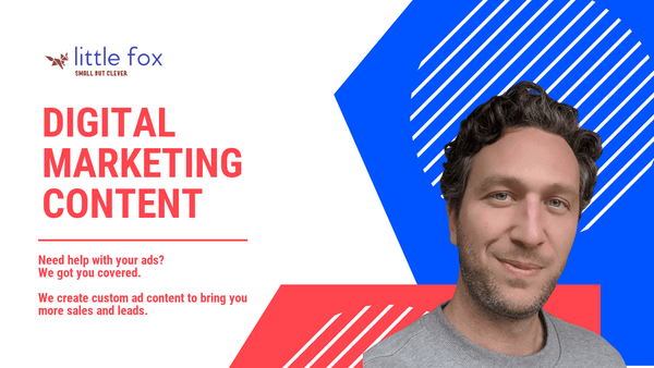 Digital Content Marketing services Little Fox can do it for your