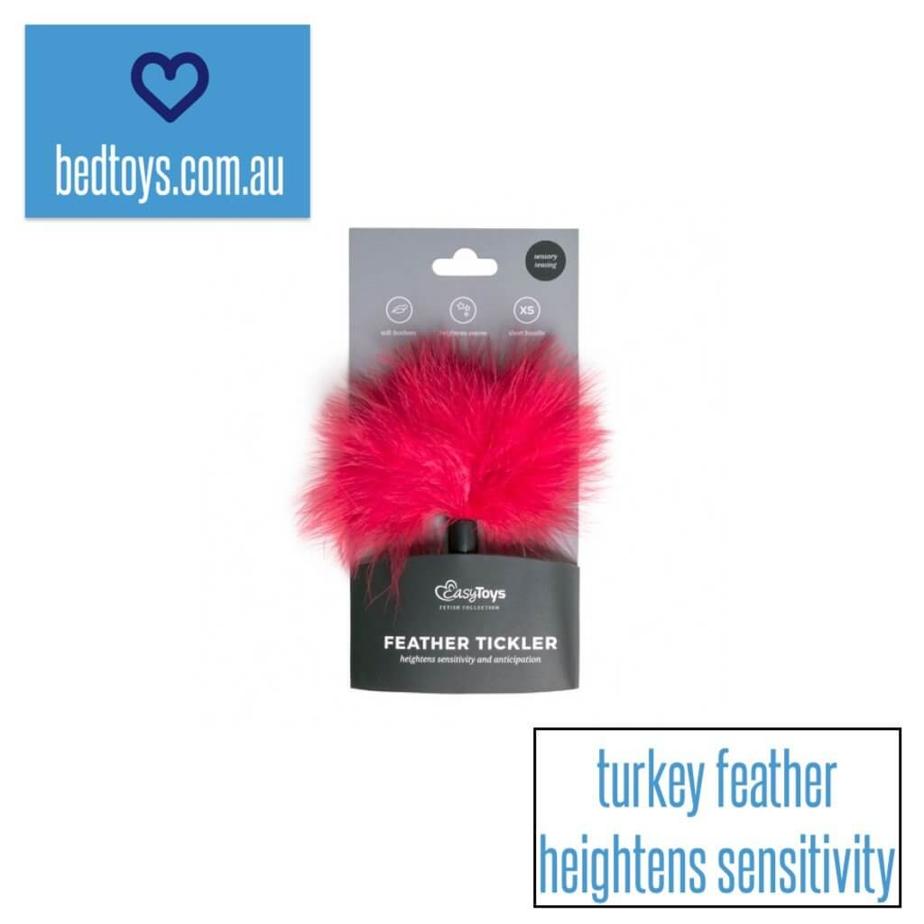 Feather tickler (turkey feather)