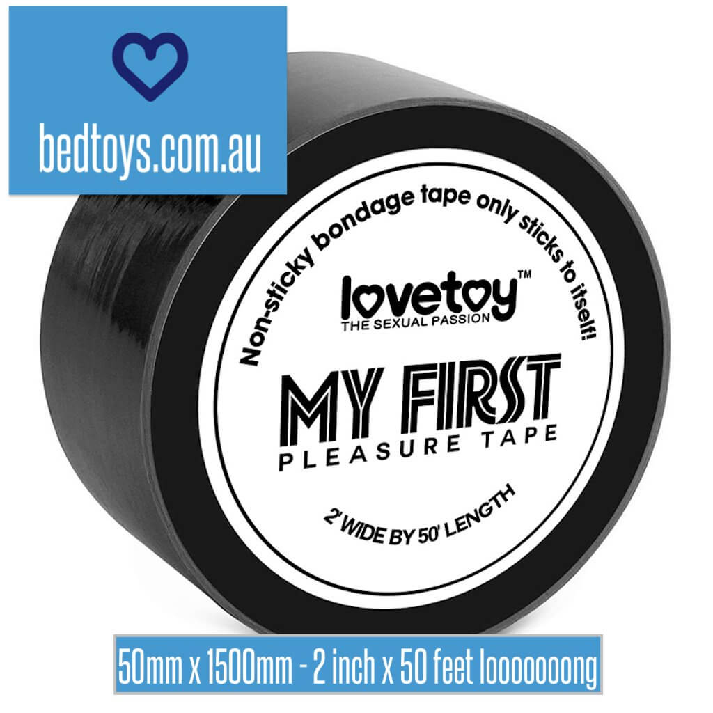 LoveToy My First bondage tape - kind & only sticks to itself - 5x150cm