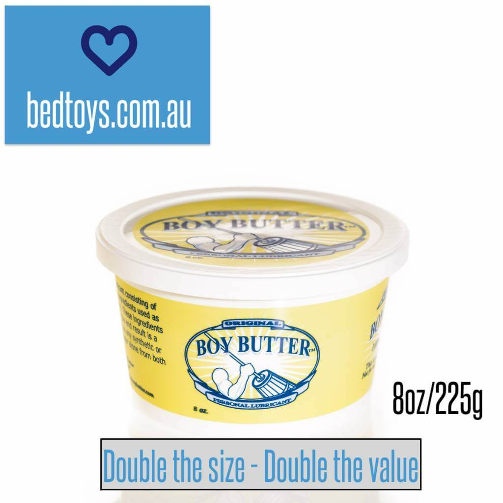 Boy Butter - the BEST lubricant - JUMBO 225g tub  - Made in USA