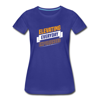 Elevating Everday Experiences - royal blue